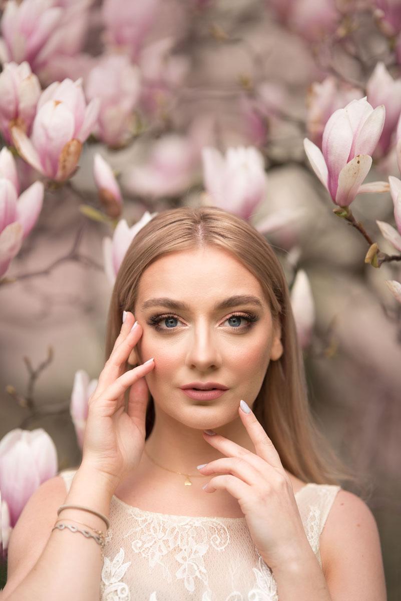 Sesja w magnolii